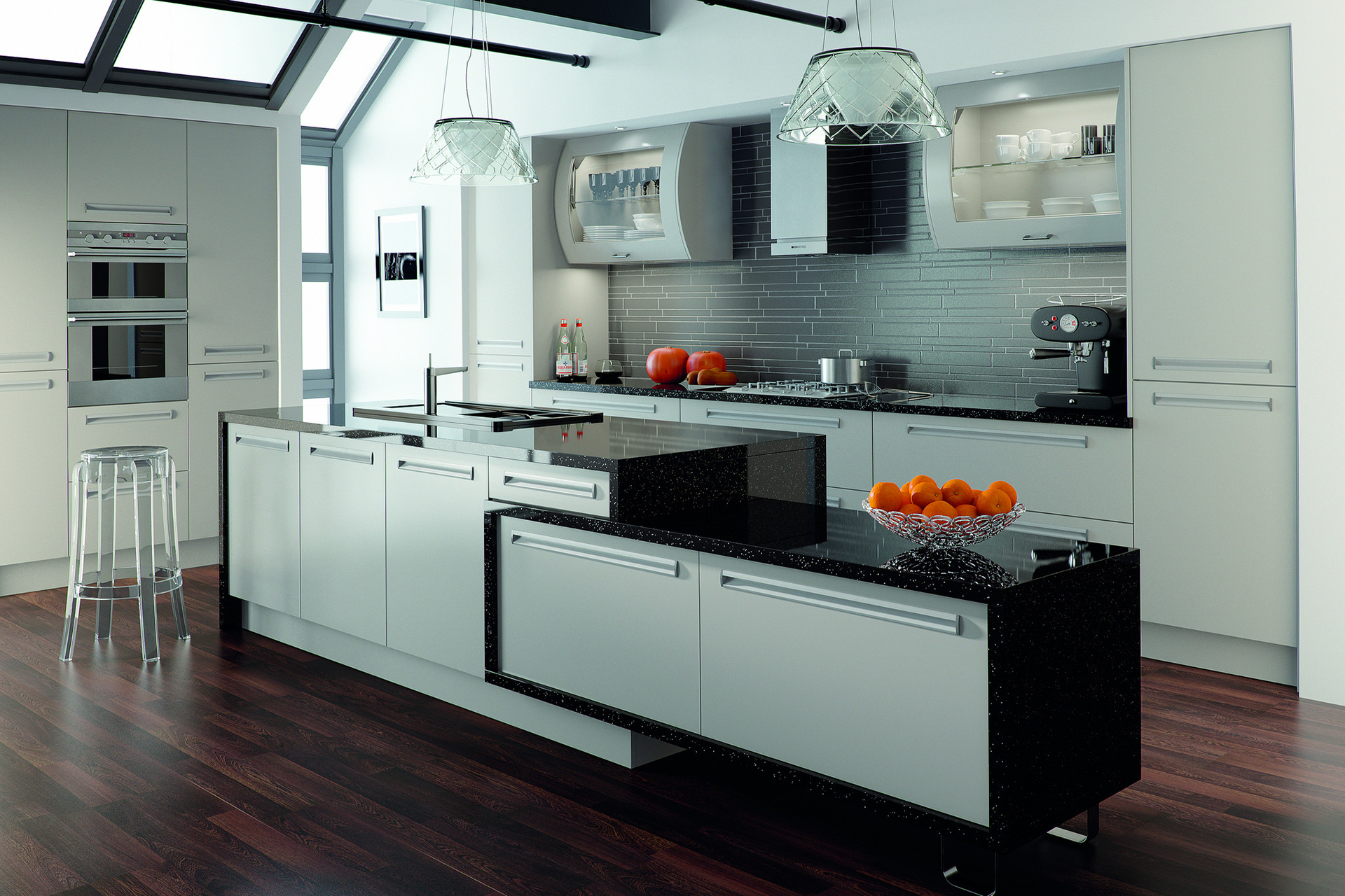 Black And White Kitchens – Pacific Cabinets